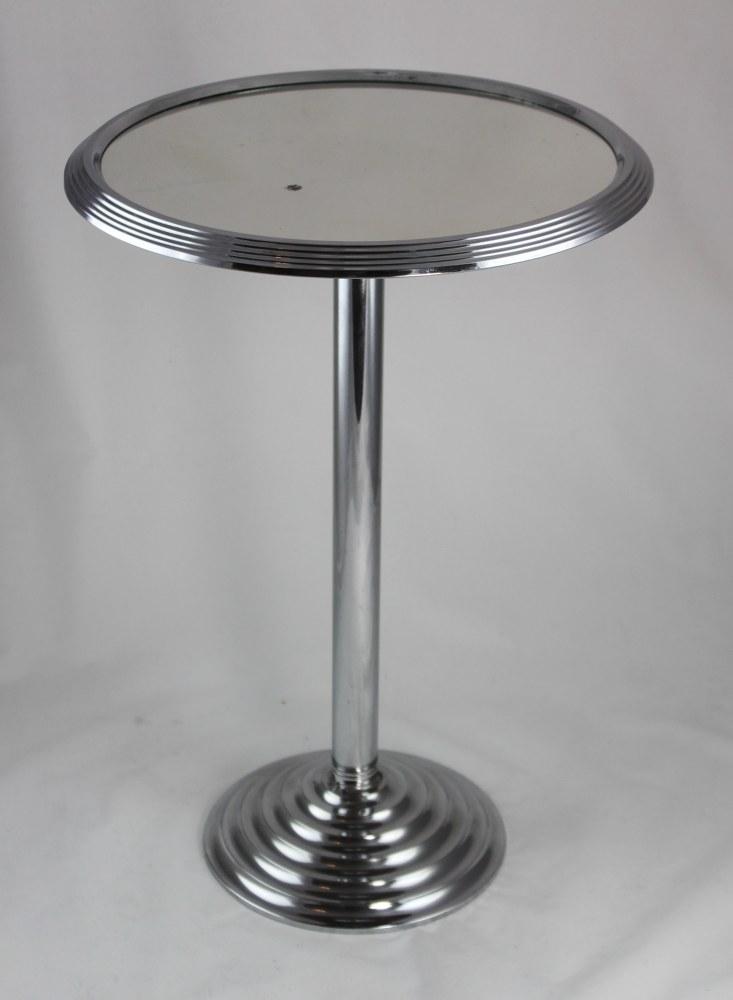 original art deco beistelltisch chrom tisch modernist table ebay. Black Bedroom Furniture Sets. Home Design Ideas